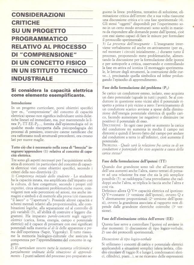 LEZIONE SU CONCETTI DI ELETTRODINAMICA1